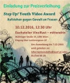 Einladung zur Preisverleihung vom Step Up! Youth Video Award